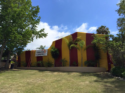 house fumigation red and yellow