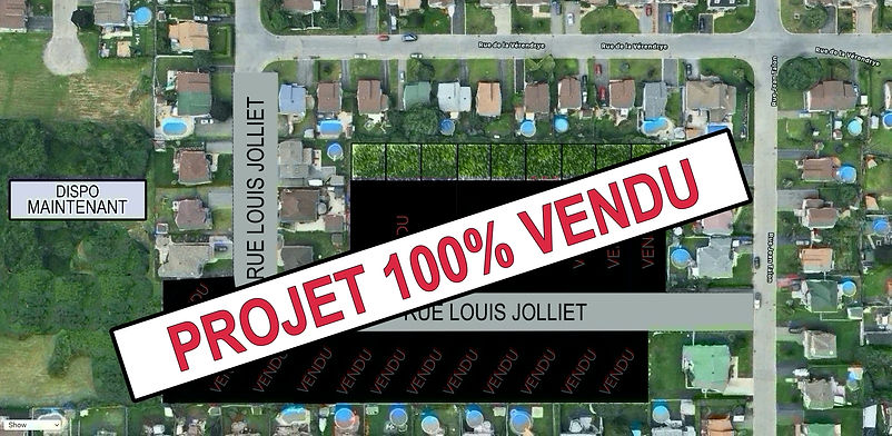 SOLD HCH Louis Jolliet Lots on Map Reser