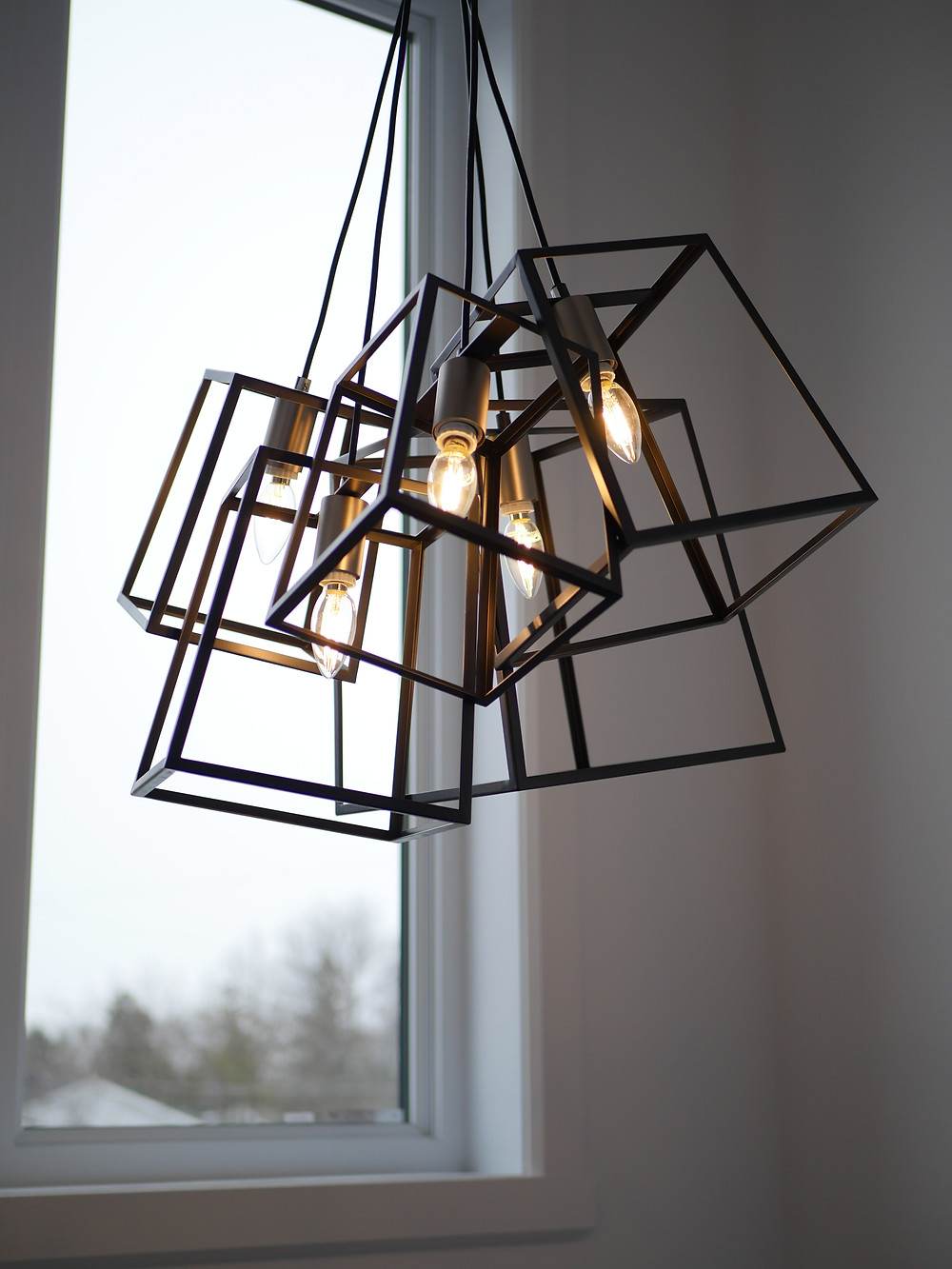 Hanging lantern style lights