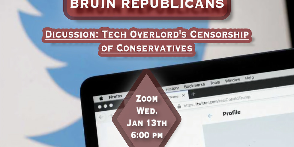 Tech Overlords Censorship of Conservatives