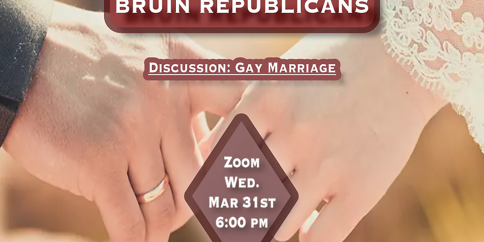 Discussion: Gay Marriage