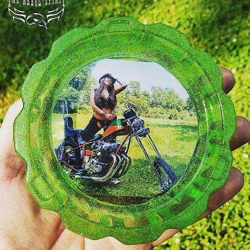 Green AssTray