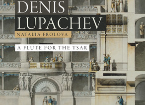 """""""A Flute for the Tsar"""". Principal flute of the Mariinsky orchestra Denis Lupachev."""