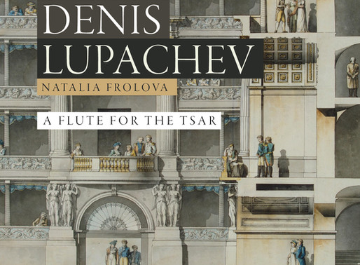 """A Flute for the Tsar"". Principal flute of the Mariinsky orchestra Denis Lupachev."