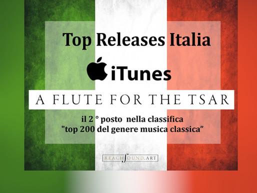 """""""A Flute for the Tsar"""" в Top лучших классических релизов Италии"""
