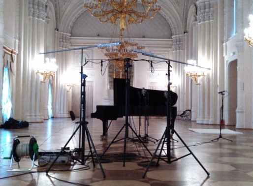 Акустический паспорт Белого зала Мраморного дворца Санкт-Петербурга.