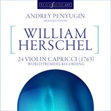 William Herschel XXIV Capriccio for Viol