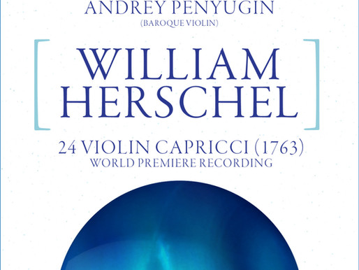 World premiere of William Herschel's 24 Capriccios at # 1 in Spain.