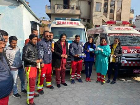 Decontaminate Ambulances