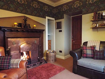 Snugle down in front of a cosy fire.