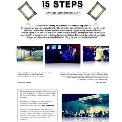 15 Steps Info