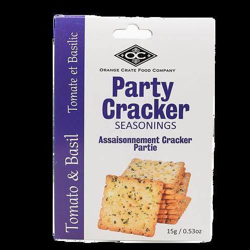 Party Cracker Seasoning Tomato Basil