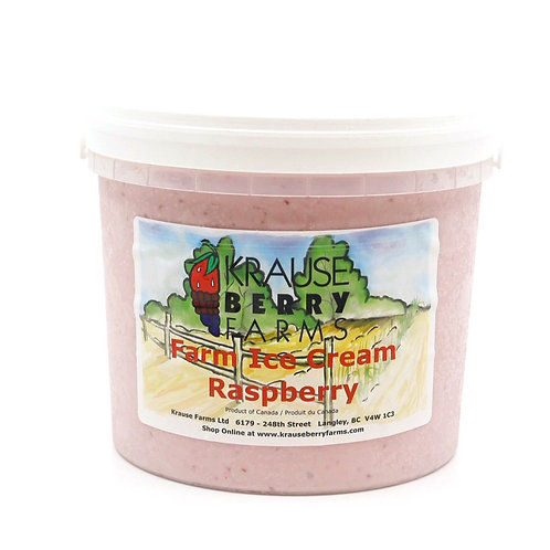 Farm Fresh Raspberry Ice Cream