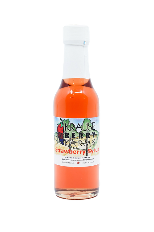 Strawberry Syrup (147ml)