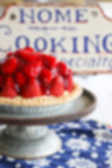 Fresh Berry Custard Pie, Krause Berry Farms Pies