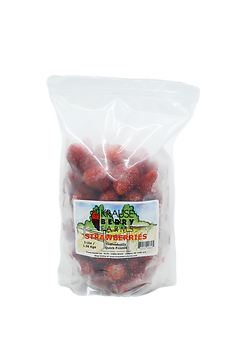 3 lbs Frozen IQF Strawberries
