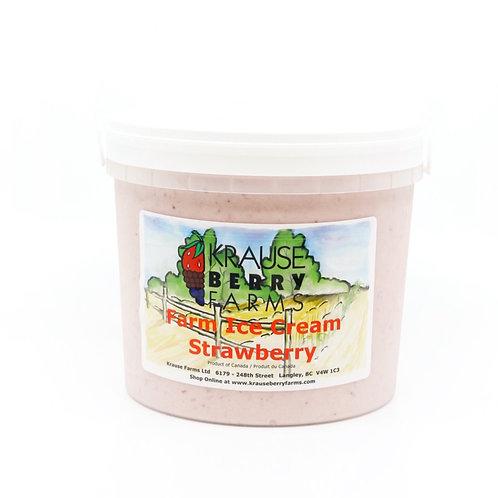 Farm Fresh Strawberry Ice Cream