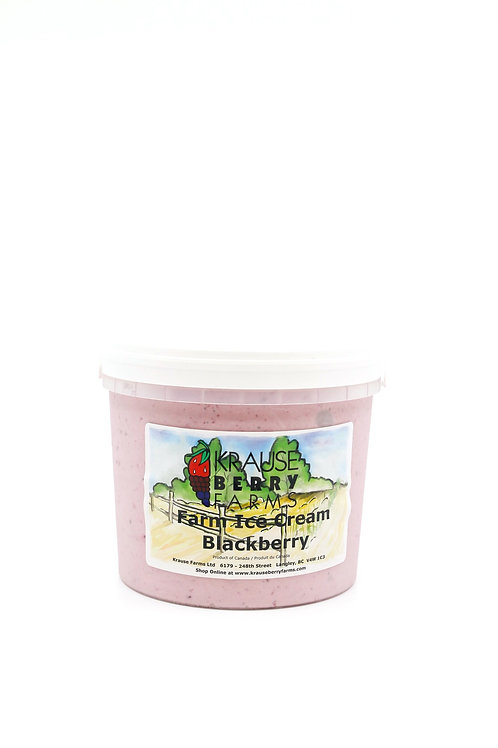 Farm Fresh Blackberry Ice Cream