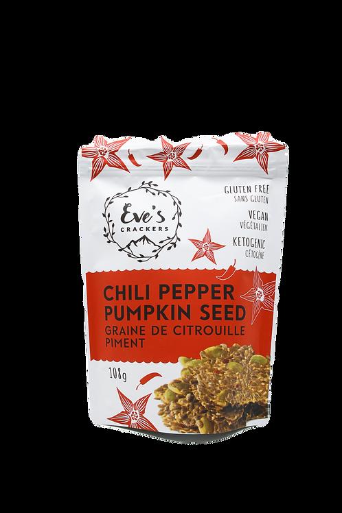 Eve's Chili Pepper Pumpkin Seed Crackers