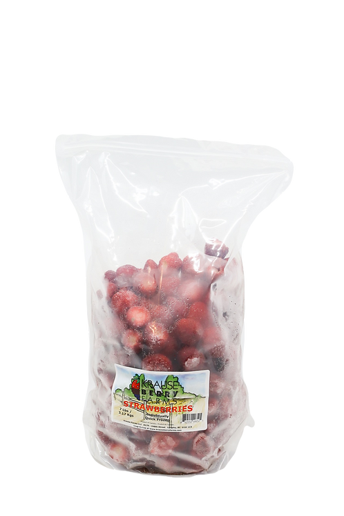 7 lbs Frozen IQF Strawberries