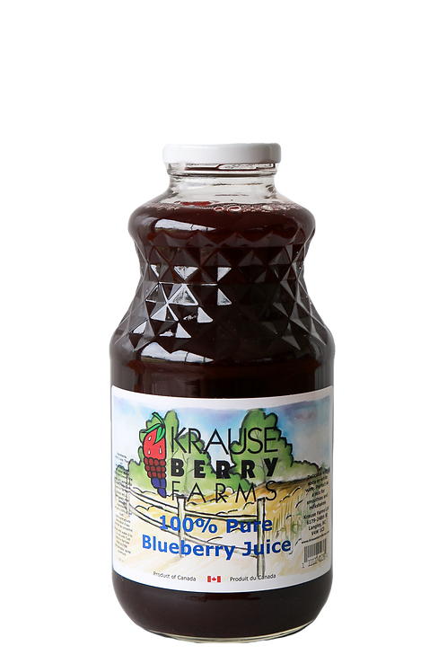 100% Pure Blueberrry Juice