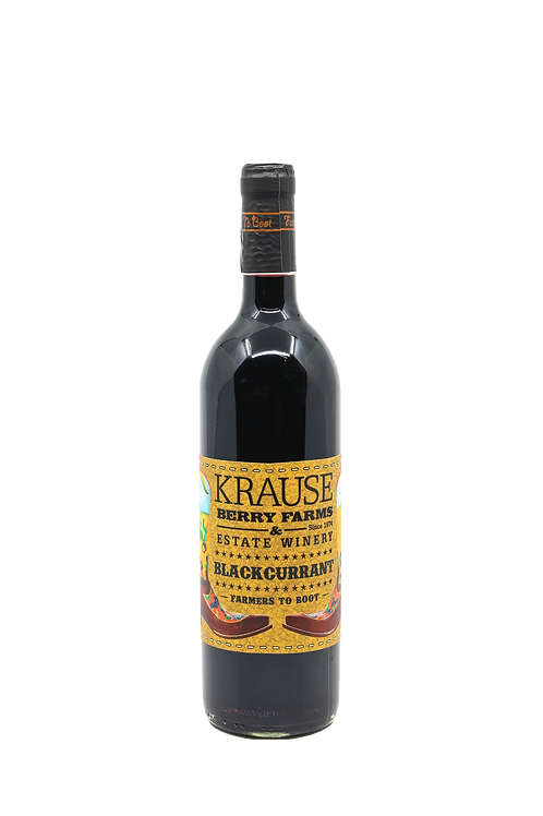 Black Currant Wine (Reserve) 750ml