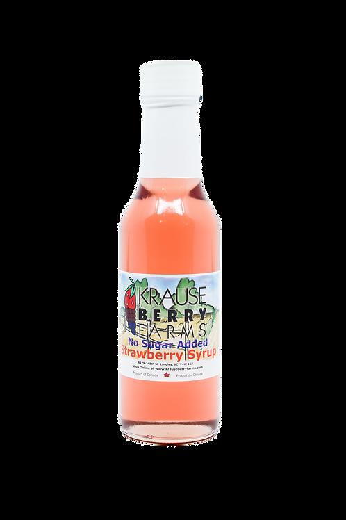 Strawberry Syrup (No Sugar Added) (147ml)