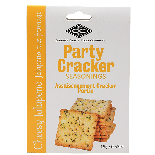 Party Cracker Seasoning Cheesy Jalapeno