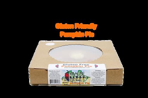 Pumpkin Pie (Gluten Friendly)