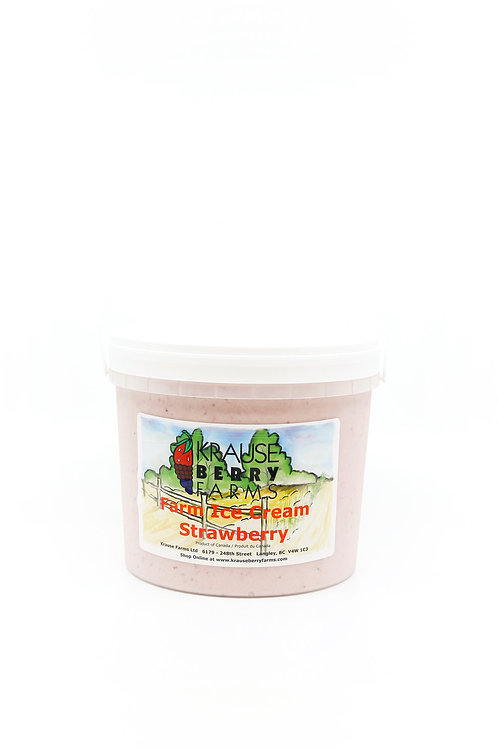 Farm Fresh Strawberry Ice Cream