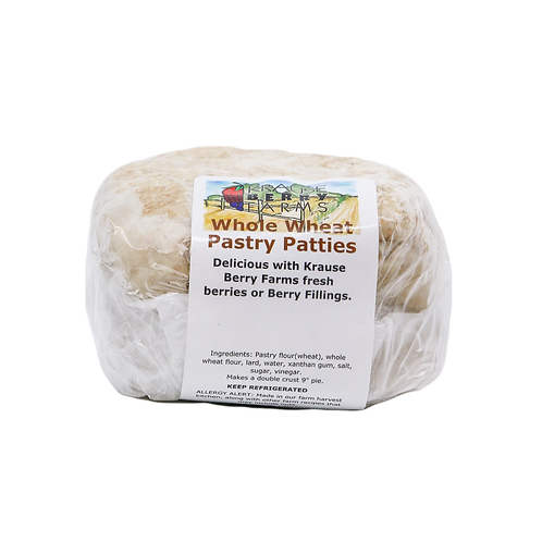 Whole Wheat Pastry Patties
