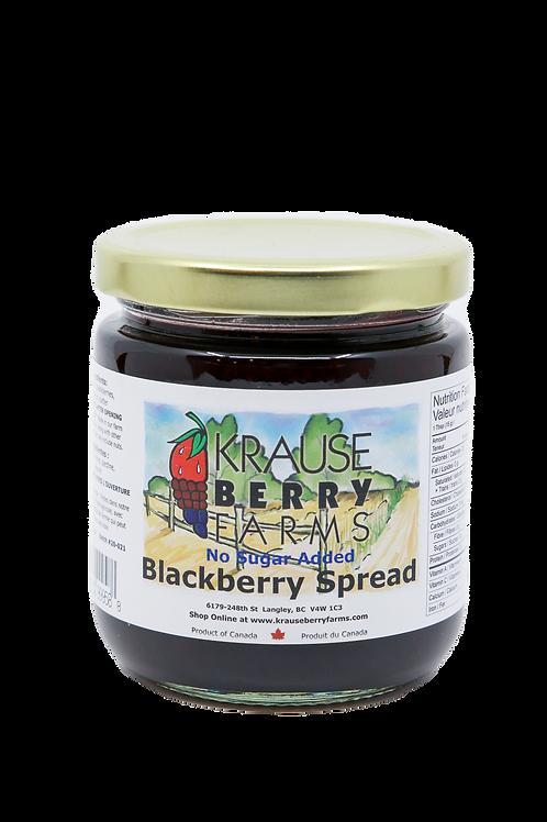 Blackberry Spread (No Sugar Added) (L)