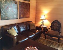 Joan of Arc Suite living area