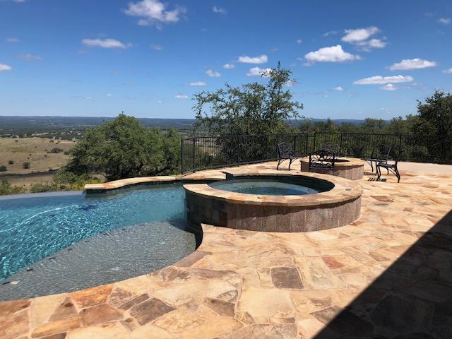 Pool, hot tub & propane fire pit