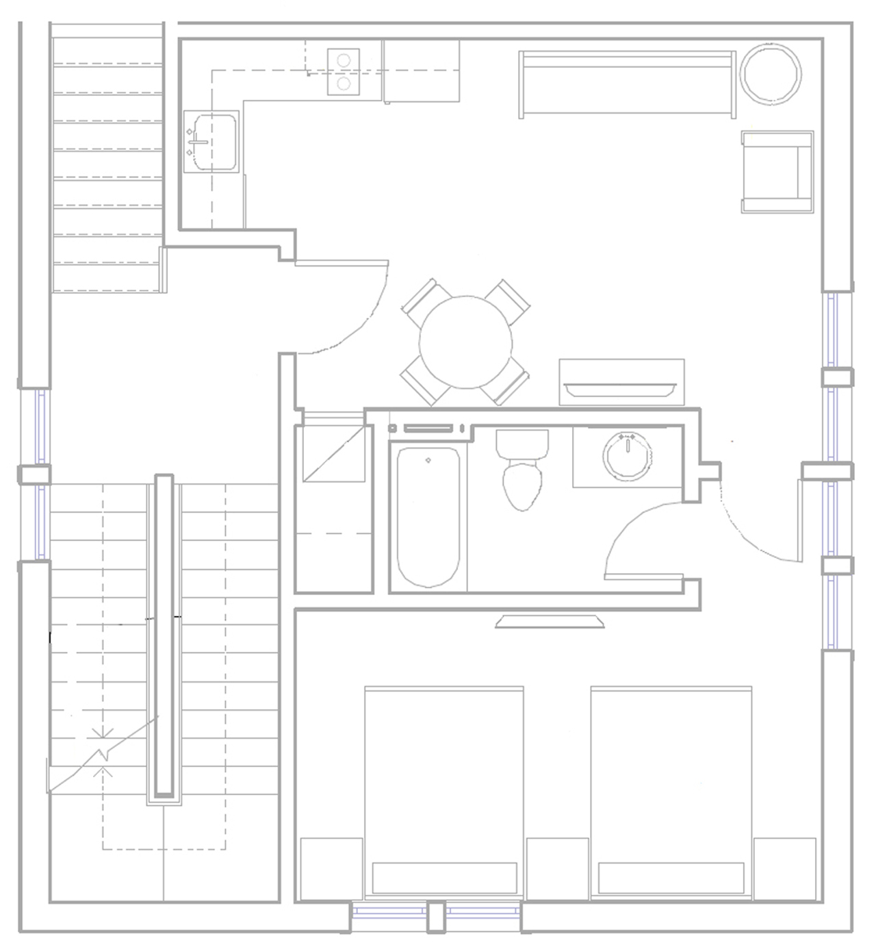 Joan of Arc Suite floor plan
