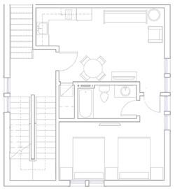 Joan of Arc Suite floor plan