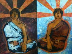 Twin Bhuddas