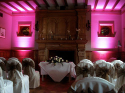 Wedding Ceremony Uplighting