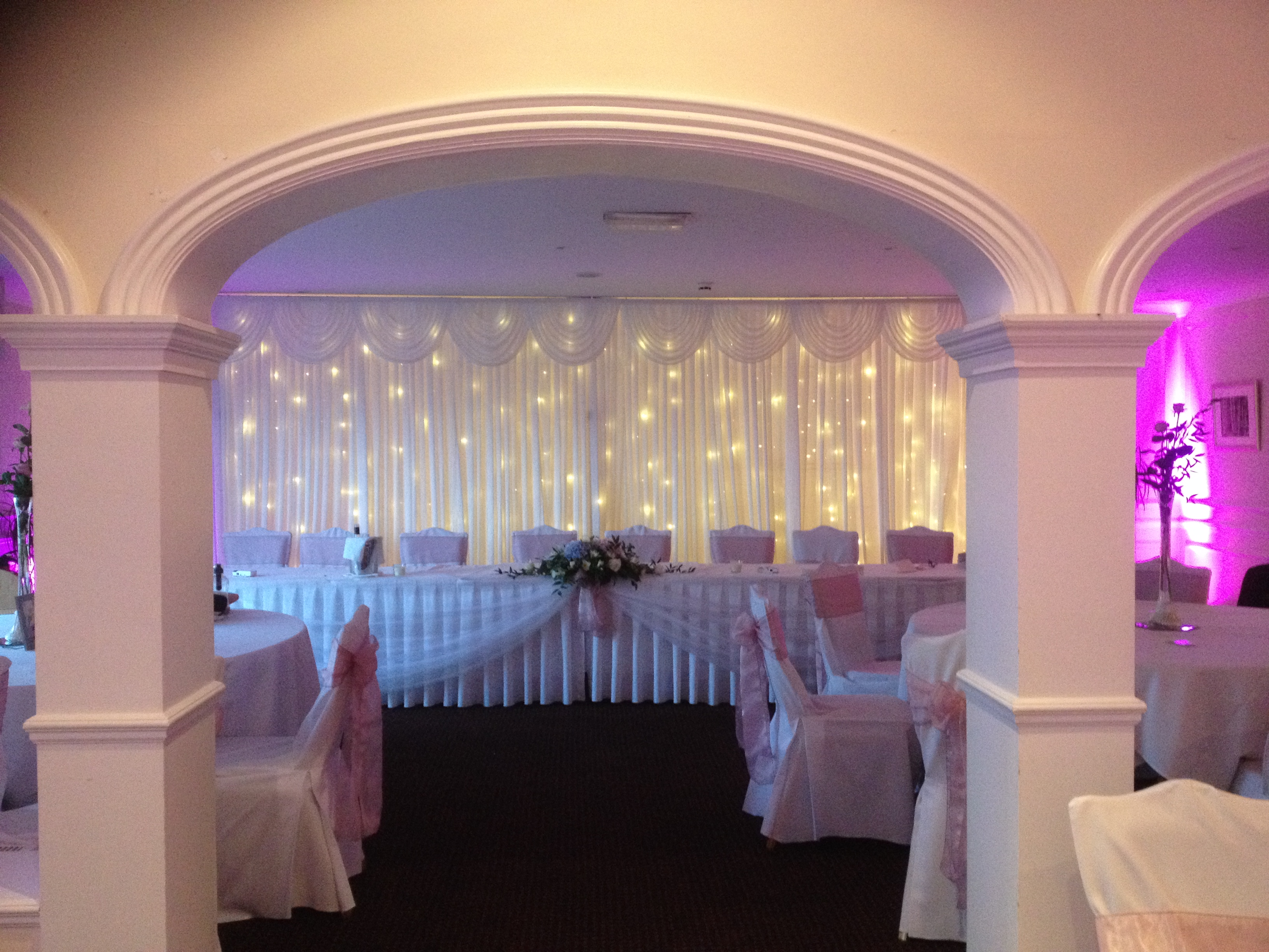 Starlight Wedding Backdrop