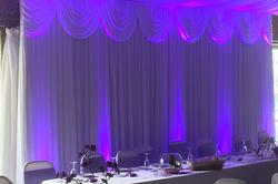 Coloured Wedding Backdrop