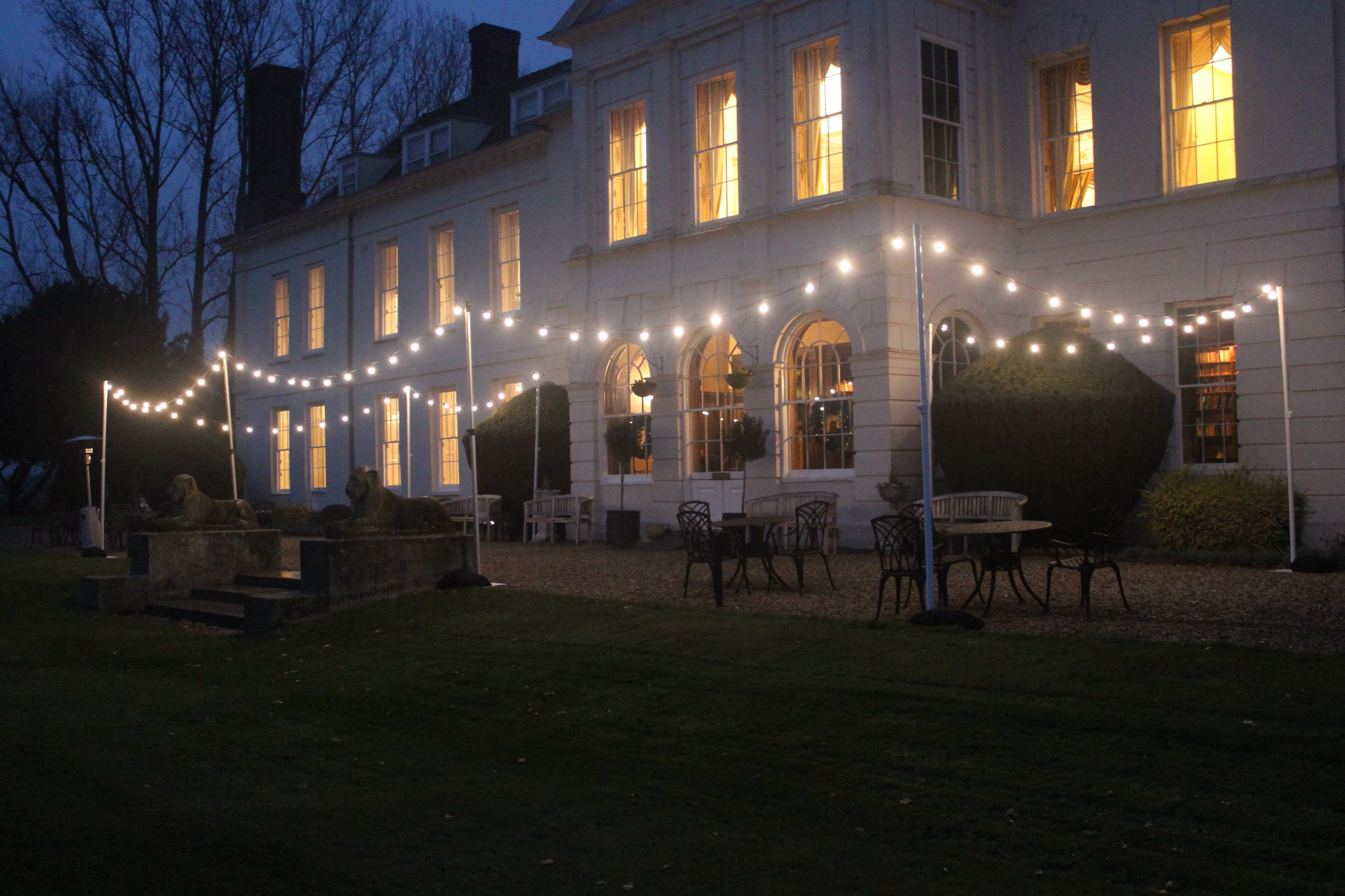 Outdoor Lighting Gosfield Hall