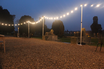 Outdoor Overhead Lighting