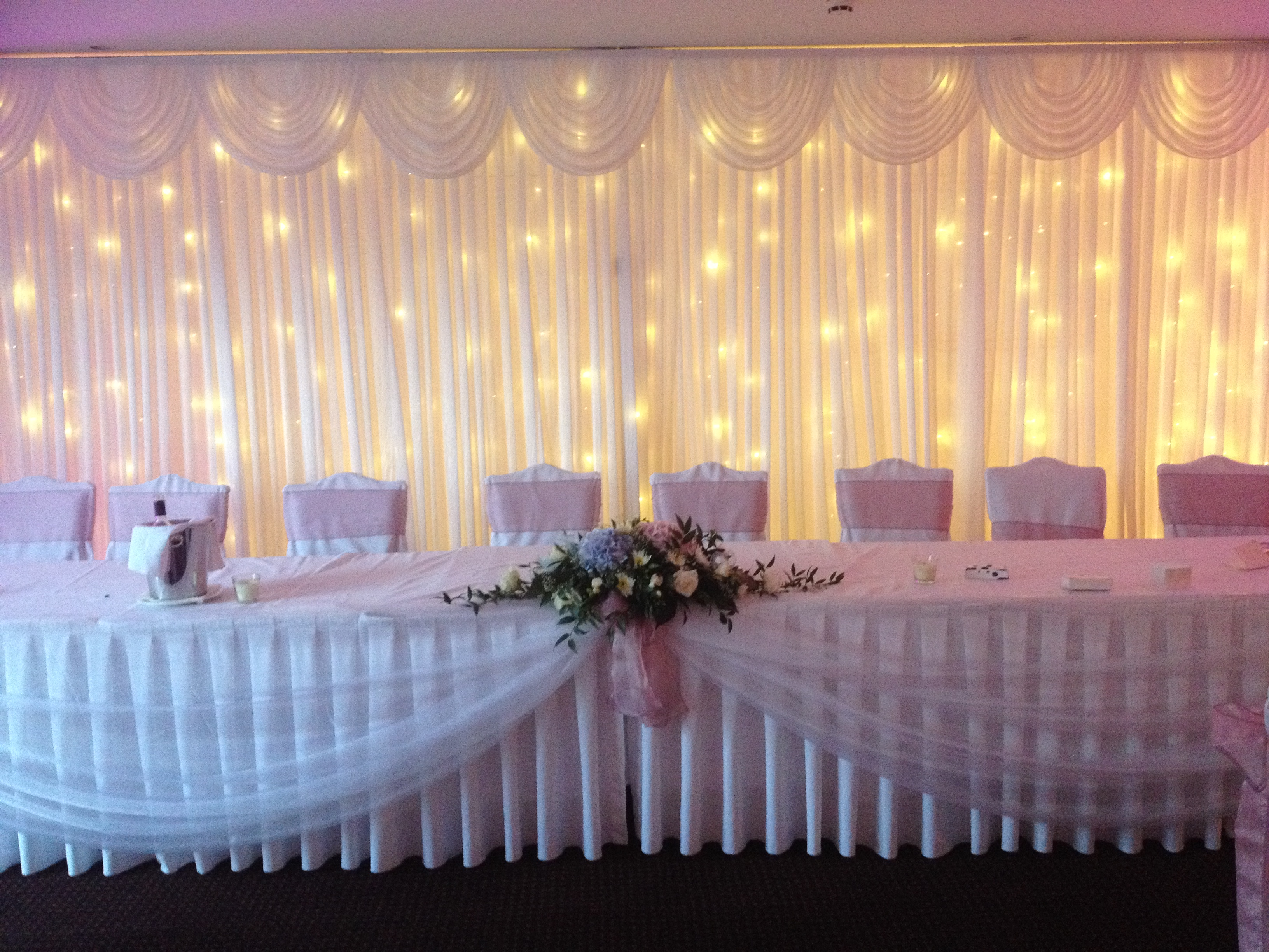 Light Up Backdrop @ Stoke by Nayland