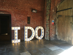 I DO Letter Hire Leez Priory