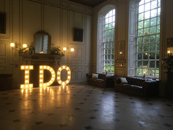 Light Up Letters @ Gosfield Hall