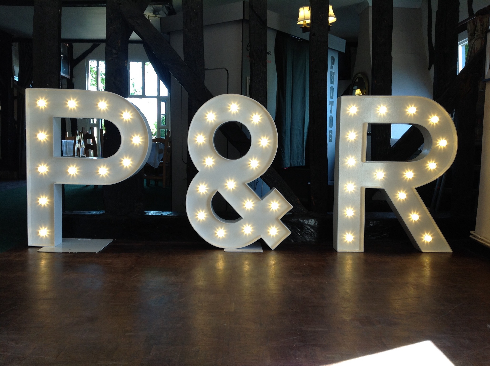 wedding letter hire @ Forrester Park