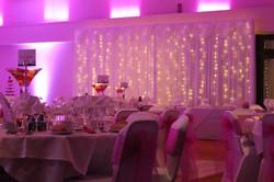Wedding curtain @ Cameo Copdock