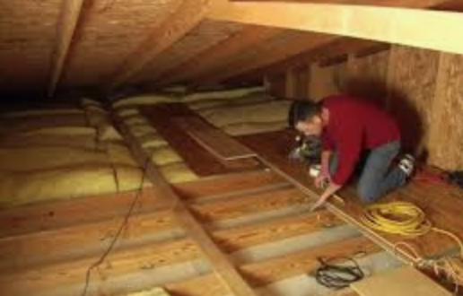 Lay loft flooring