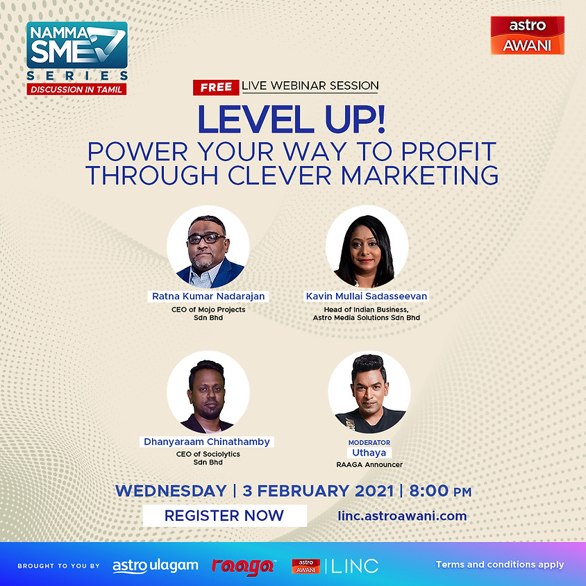 LEVEL UP! POWER Your Way To Profit Through Clever Marketing
