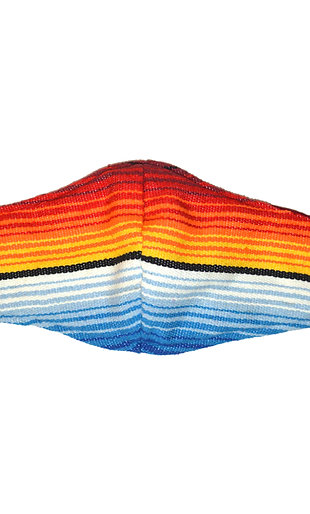 Sarape Face Mask with Filter Sleeve